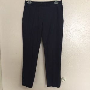 Theory Navy Cropped Ankle Pants Size 4